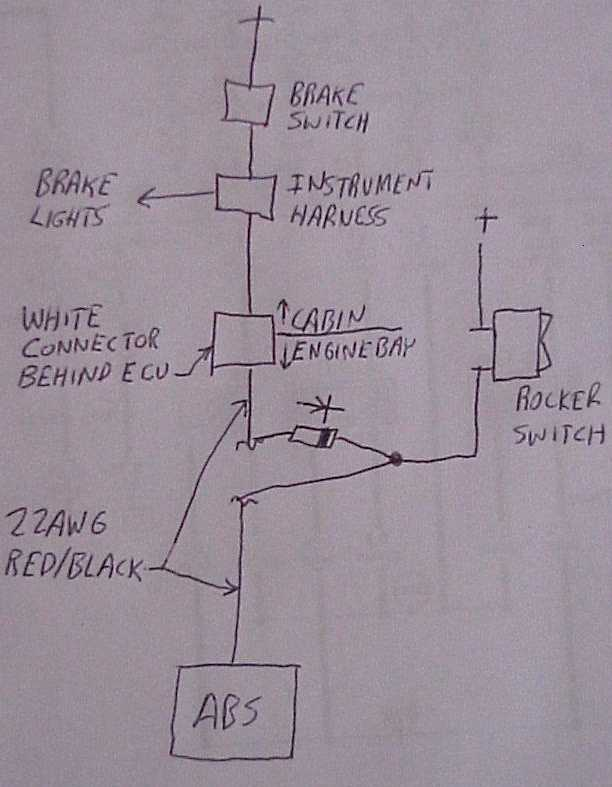 Tuning on 4 wire switch wiring diagram